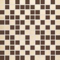 Керамическая мозайка Mosaico Aprica Beige-Cacao 30 x 30